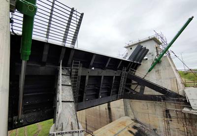 莫桑比克Corumana大坝项目1号闸门顺利试运行